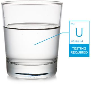 Uranium contaminant in water